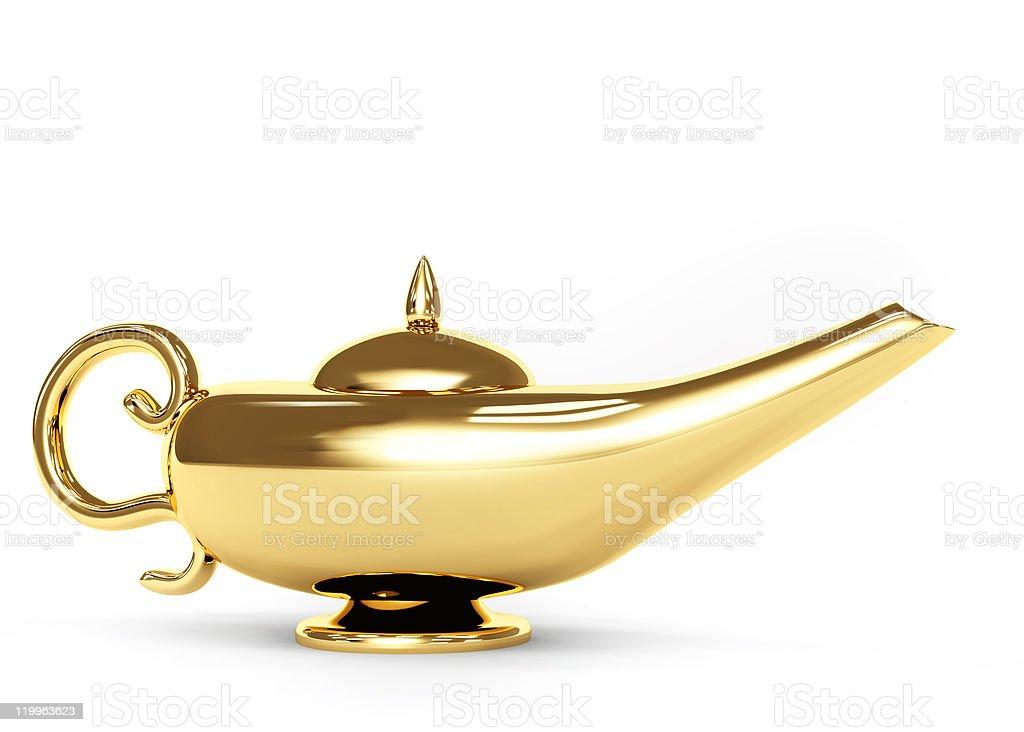 Magic lamp royalty-free stock photo