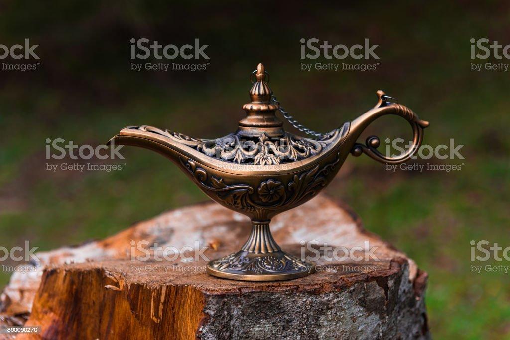 Magic Lamp stock photo