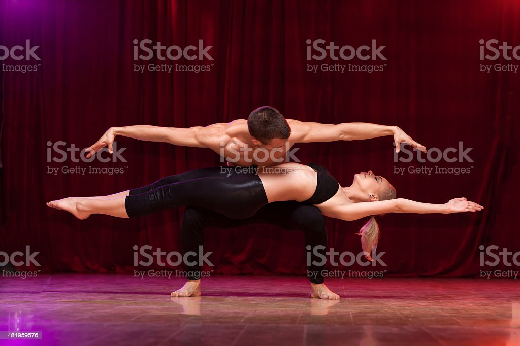 Magic levitation stock photo
