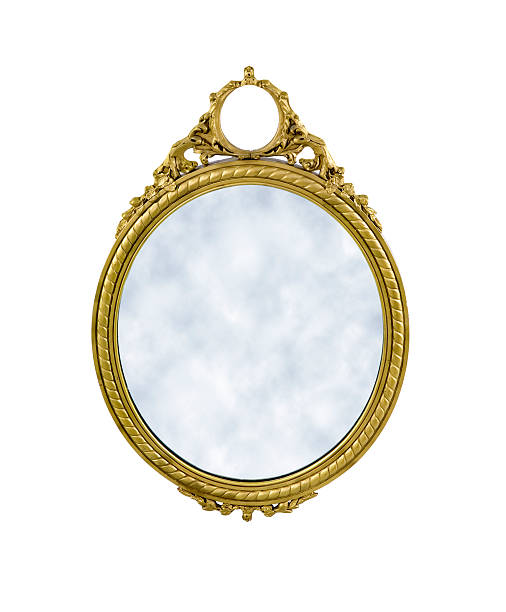 magic mirror stock photo