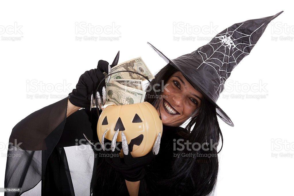 Magic money royalty-free stock photo