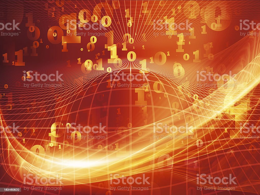 Magic of Fractal Realms royalty-free stock photo