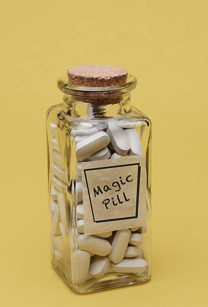 Magic Pills stock photo