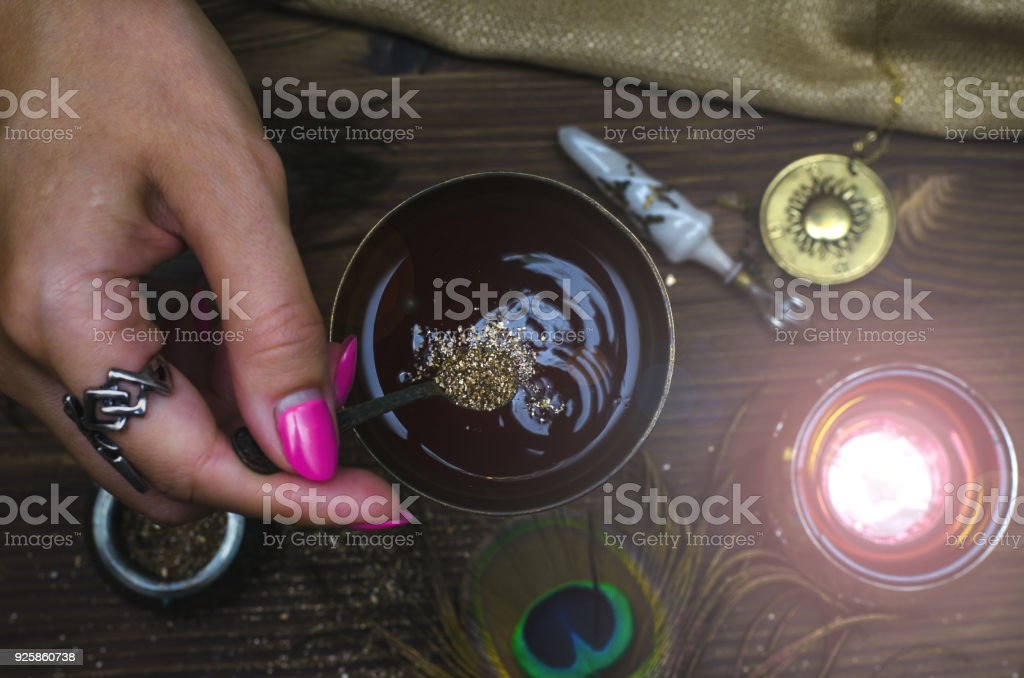 Magic Potion Witchcraft The Love Cure Poison Stock Photo & More
