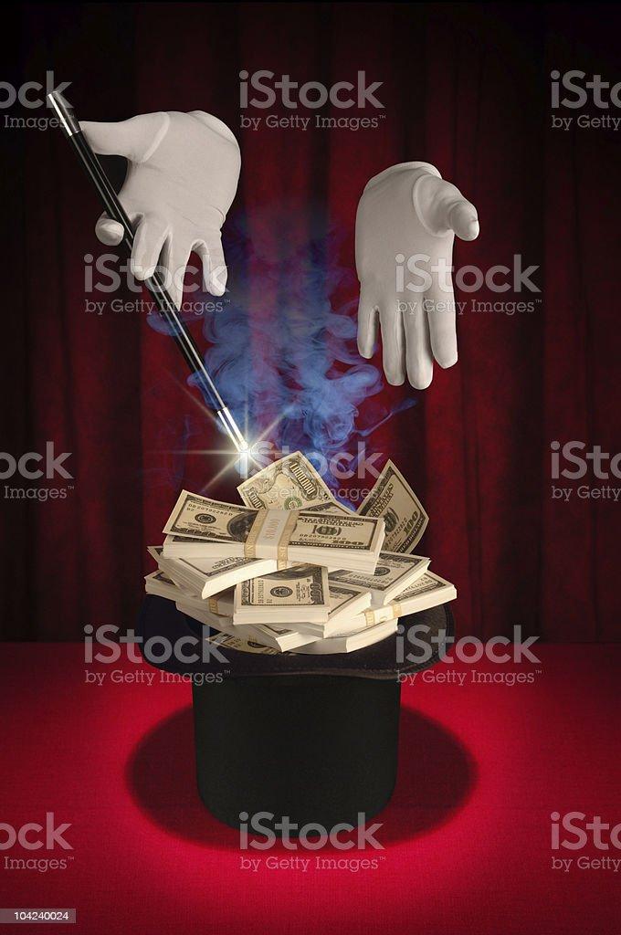 Magic Series - Instant Money stock photo