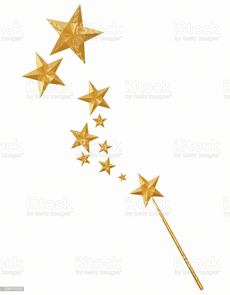 magic star royalty-free stock photo