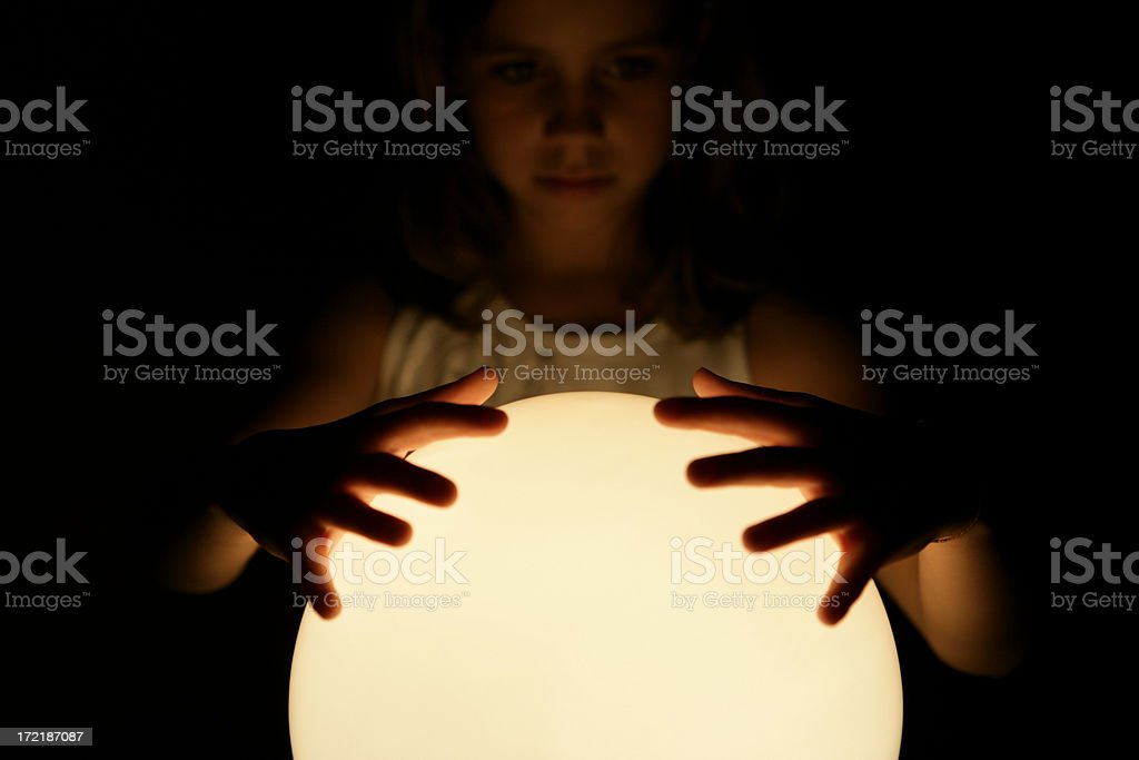 Magic thoughts royalty-free stock photo