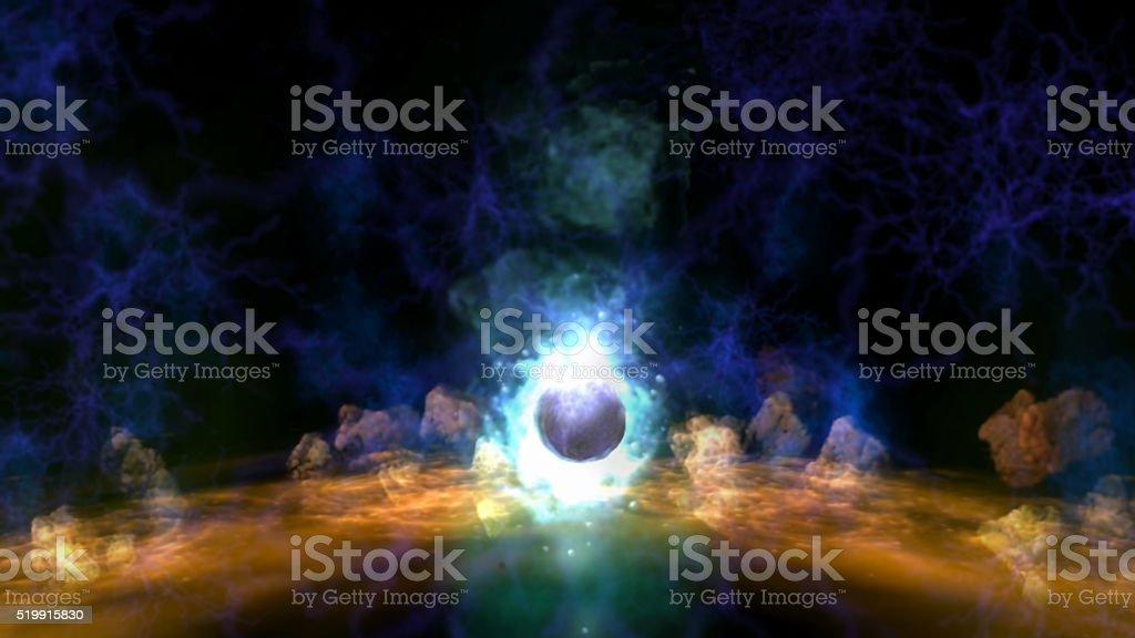 Magic Visualization stock photo