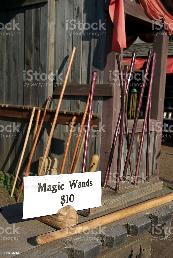 Magic Wands royalty-free stock photo