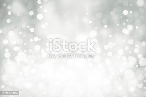 istock Magic white bubbles and glitters 519032367