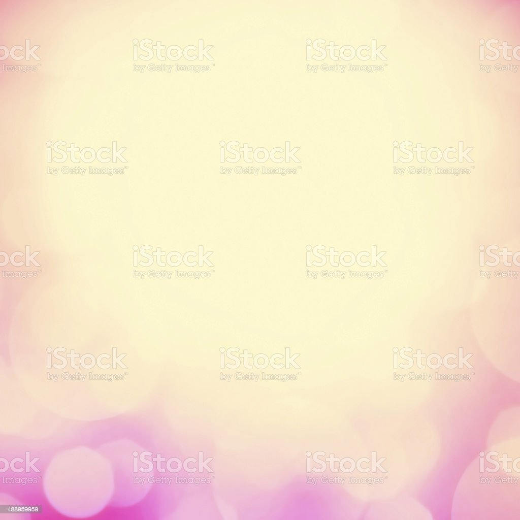 Magical background with colorful bokeh. Abstract pastel defocus stock photo