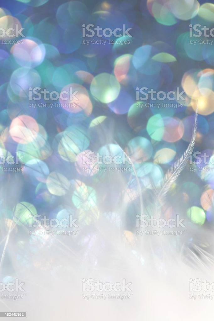 Magical Feather Background stock photo
