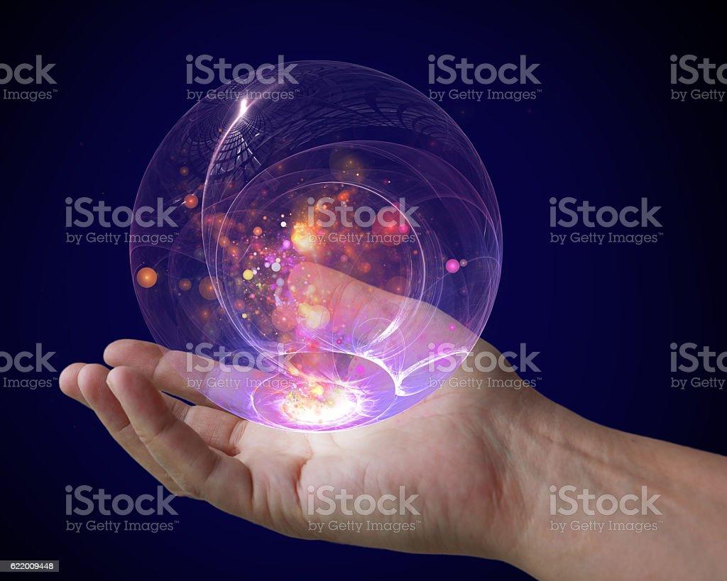 magical glass ball - Photo