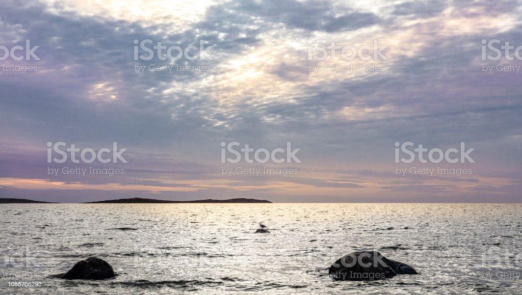 Magiska havet bildbanksfoto
