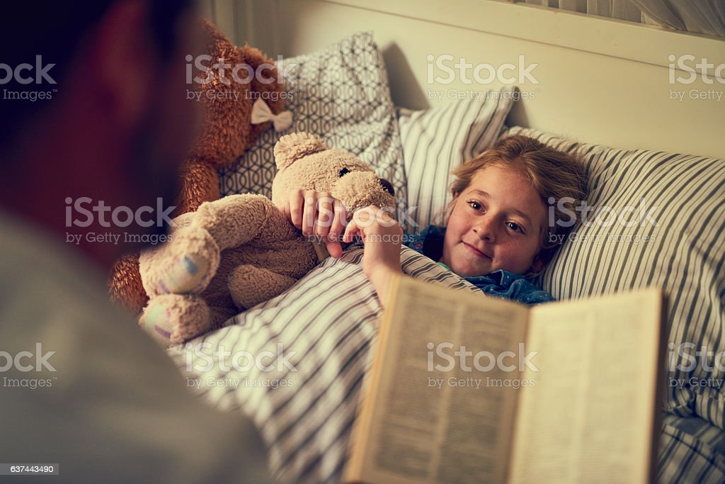 Magical stories to spark some sweetdreams stock photo