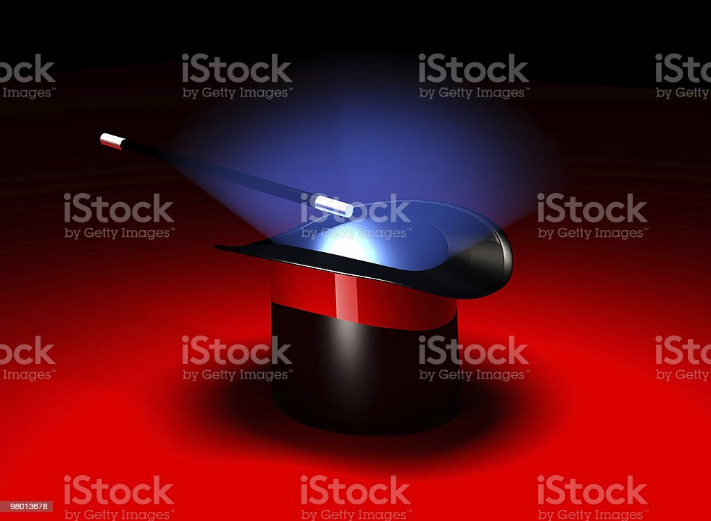 Magician Hat royalty-free stock photo