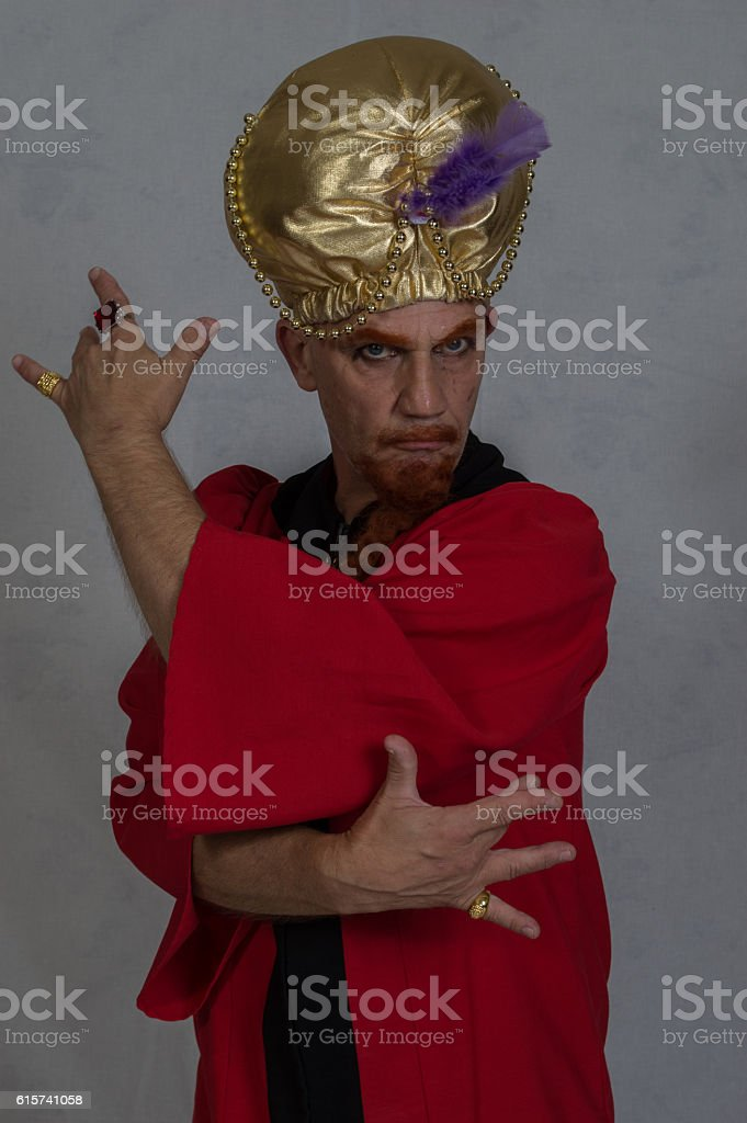 Magician / Hypnotist stock photo