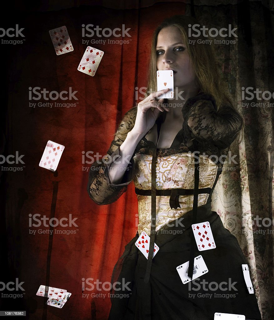 magician stock photo