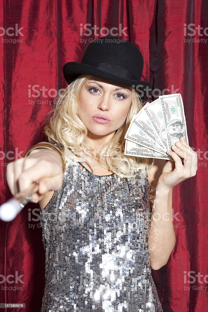Magician Series stock photo