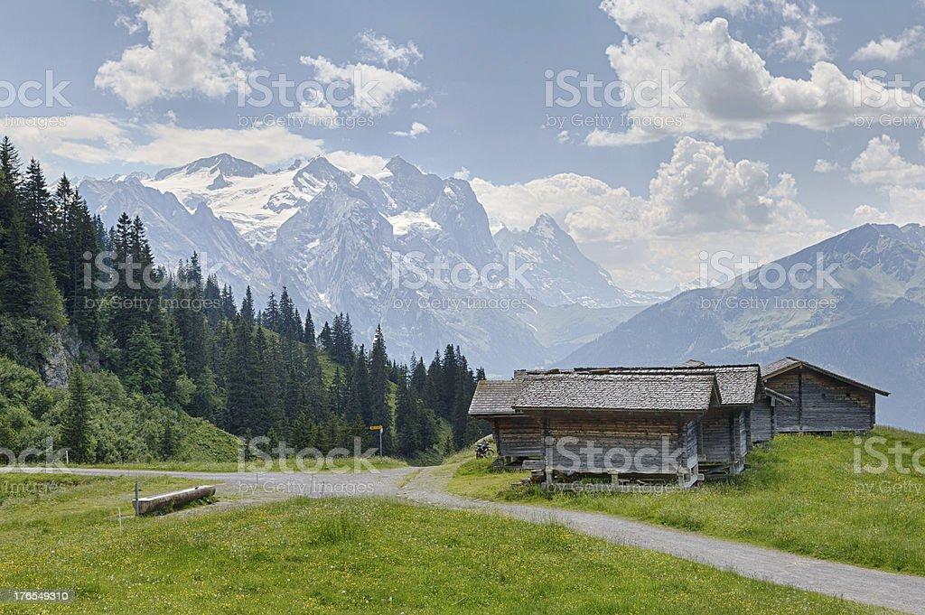 Magisalp Switzerland royalty-free stock photo