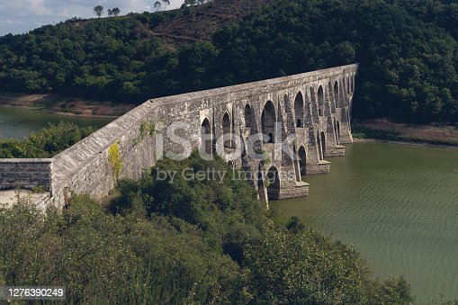 Istanbul, Turkey - Middle East, Building, Aqueduct, Arch - Architectural Feature