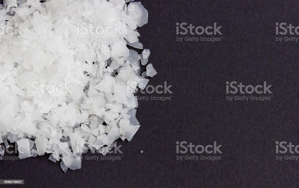 Magnesium Chloride nigari stock photo