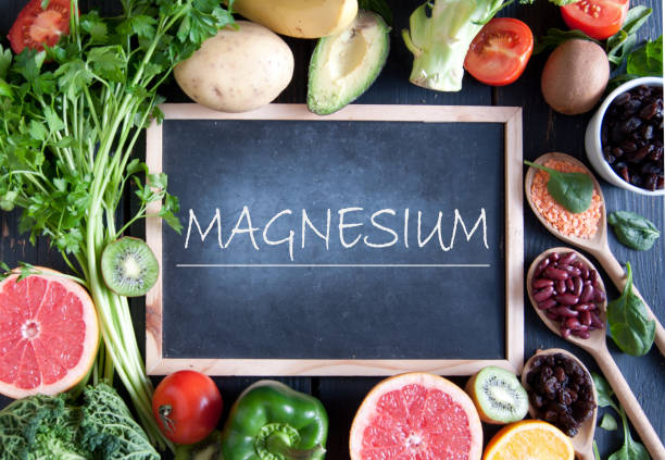 magnesium diet - magnesium stock photos and pictures