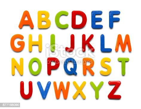istock Magnet Alphabet 877188090