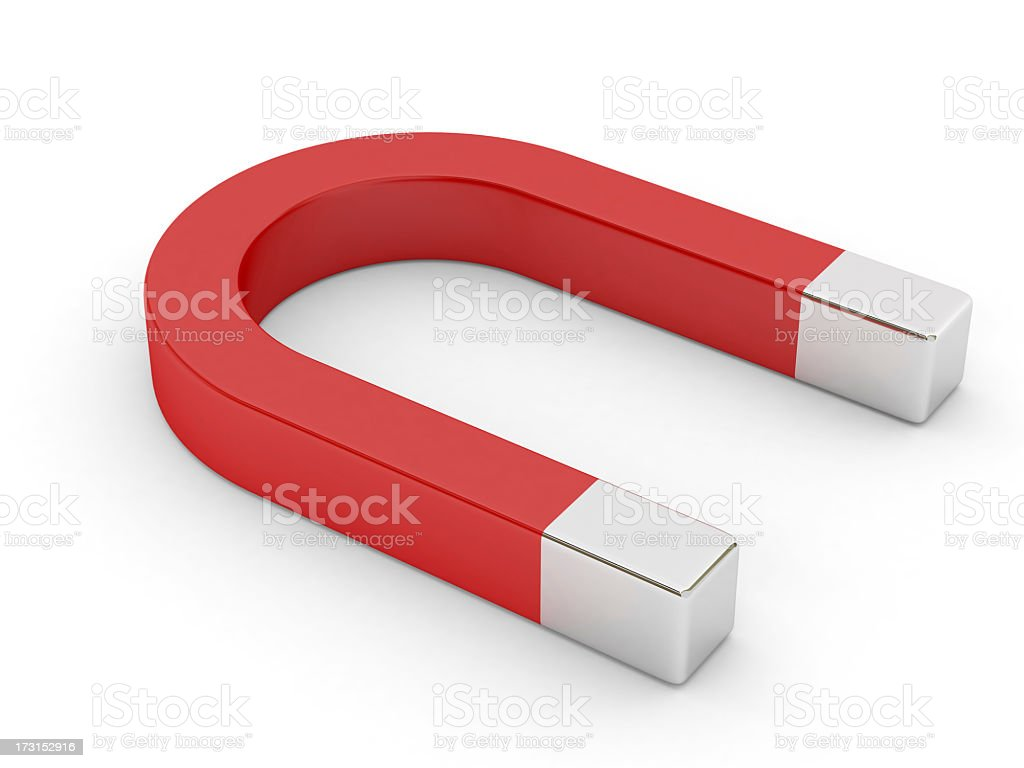 Magnet stock photo