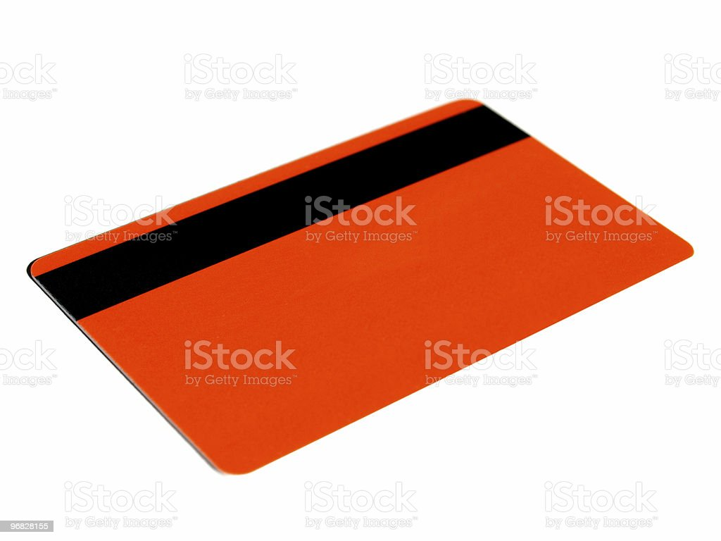 Magnetic card royalty-free stock photo