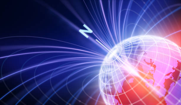 Magnetic Fields stock photo