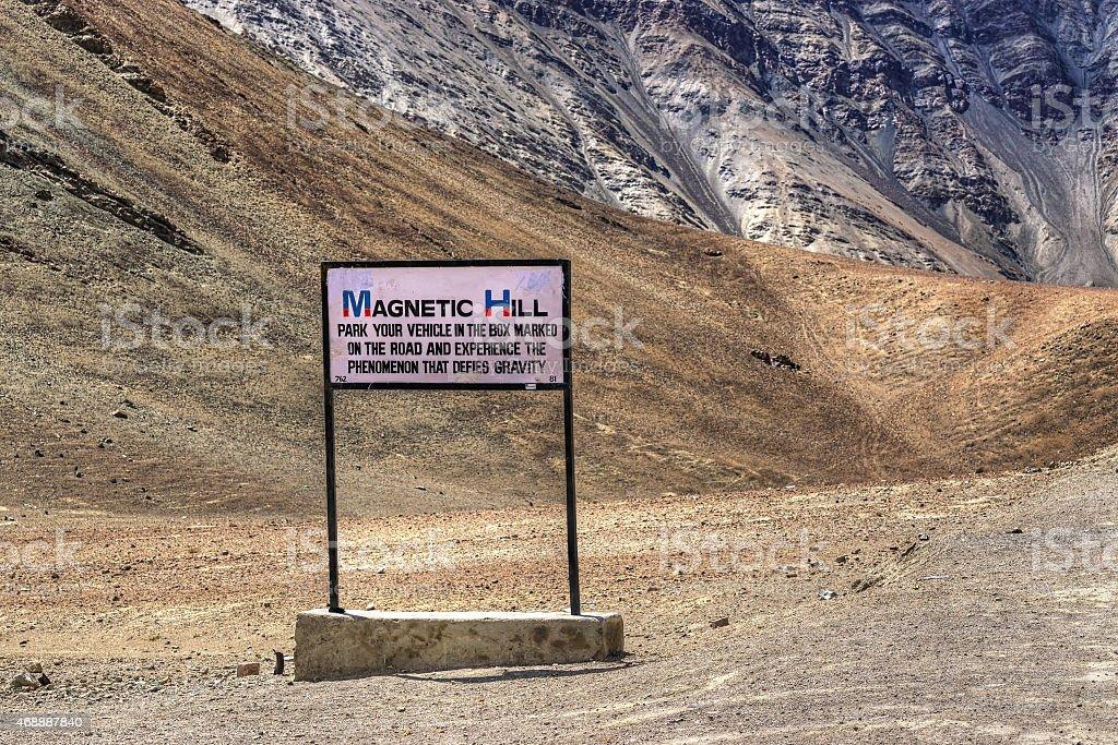 Magnetic Hill, leh, Ladakh, Jammu und Kaschmir, Indien – Foto