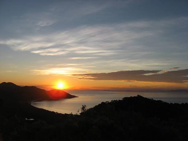 Magnetic Island Sunset, Australia stock photo
