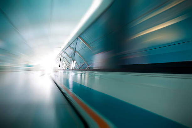 Magnetic levitation train  aerodynamic stock pictures, royalty-free photos & images