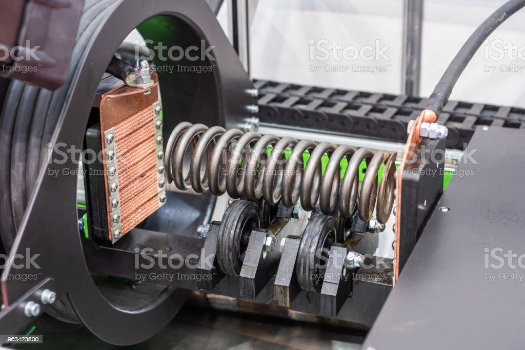 Système magnétique de contrôle non destructif de la qualité - Photo de Acier libre de droits