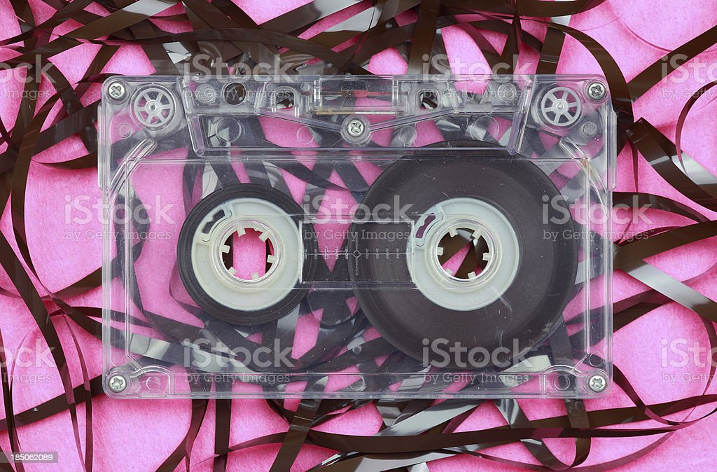 Magnetic tape royalty-free stock photo