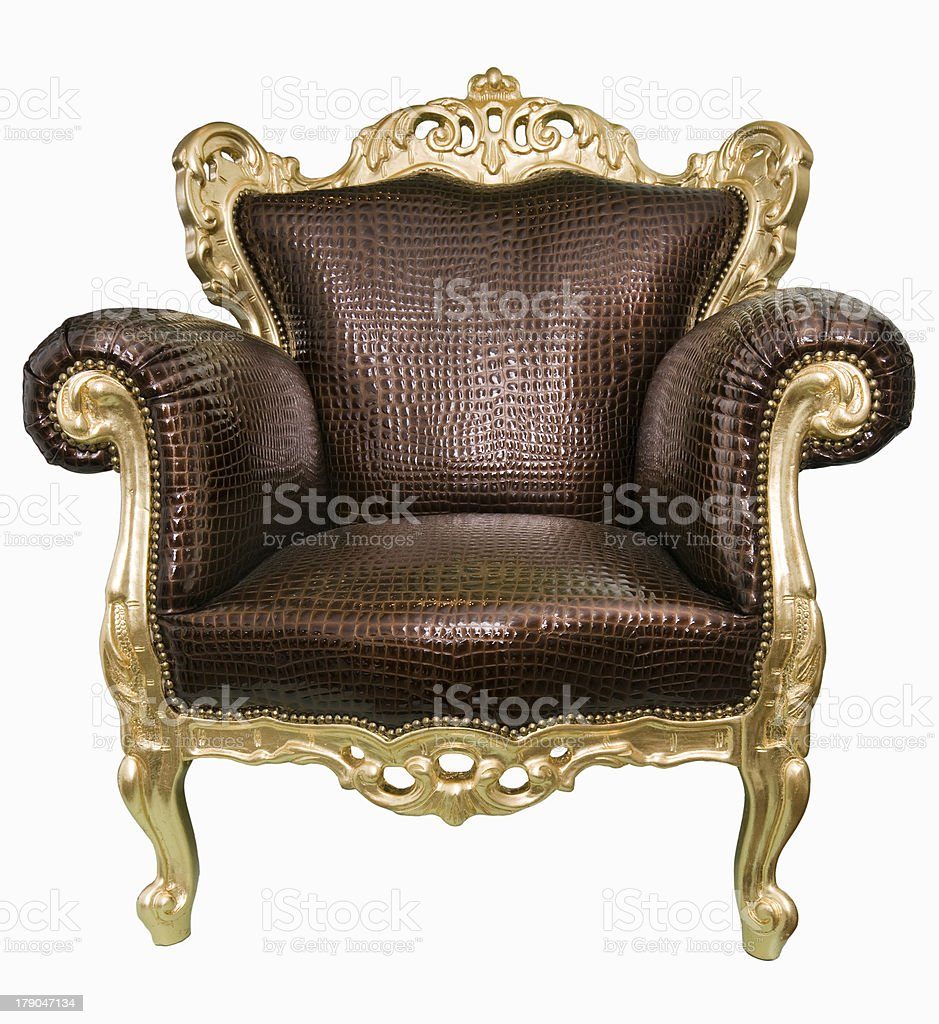 Magnificent armchair. royalty-free stock photo