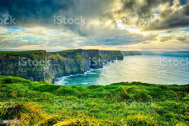 Photo of Magnificent Cliffs of Moher, Ireland in winter