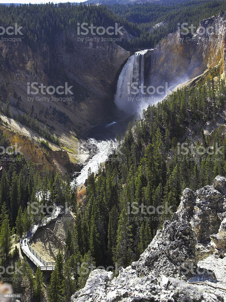 Magnificent falls royalty-free stock photo