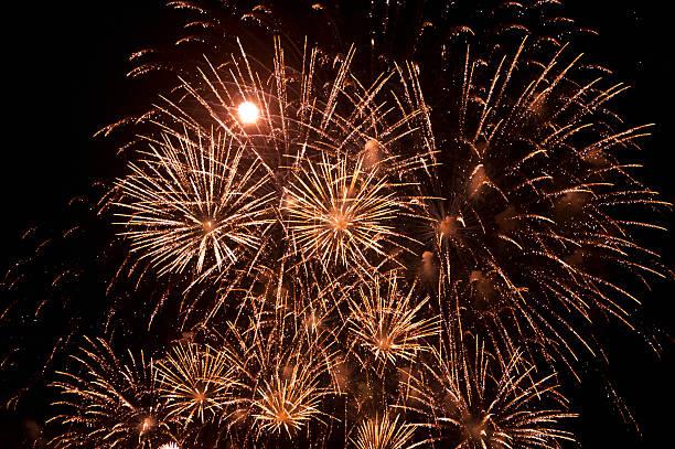 Magnificent firework display