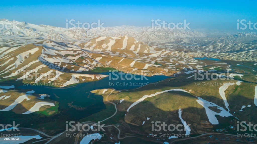 magnificent mountains of mediterranean region stock photo