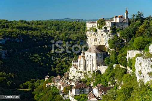 istock Magnificent view of Rocamadour 175593619