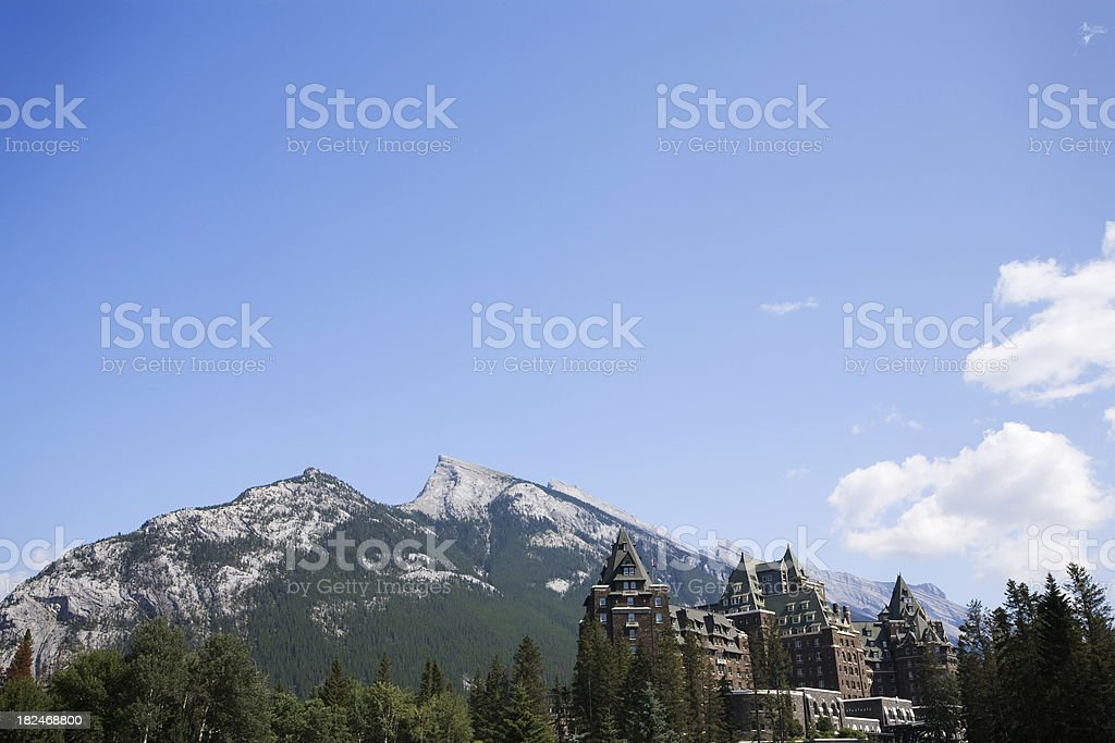 Magnificent view stock photo