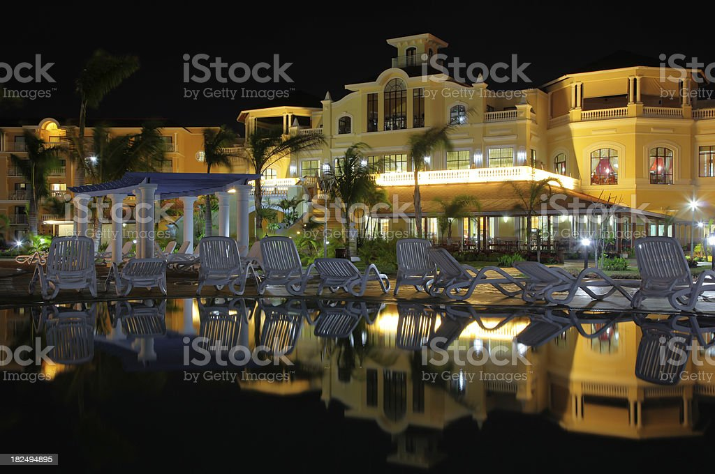 Magnificient Resort royalty-free stock photo