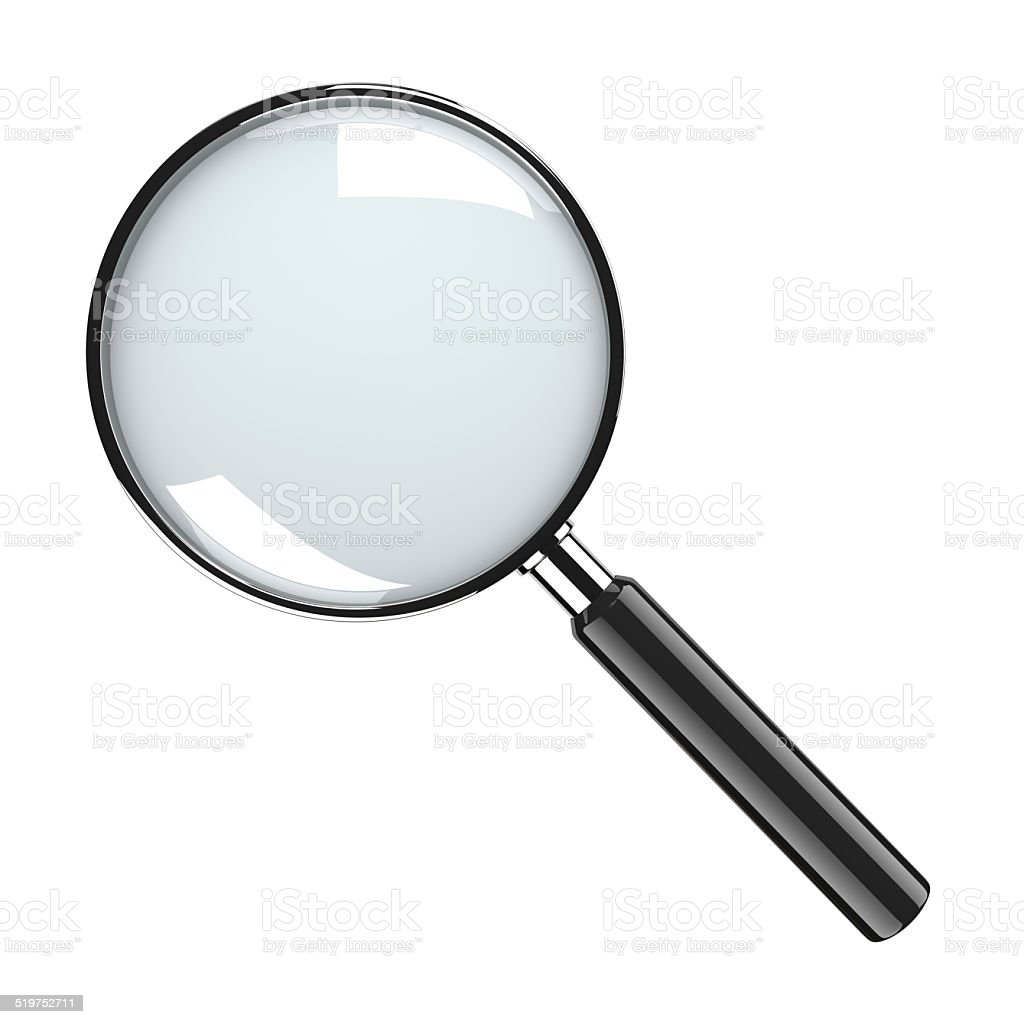 Magnifier Glass stock photo
