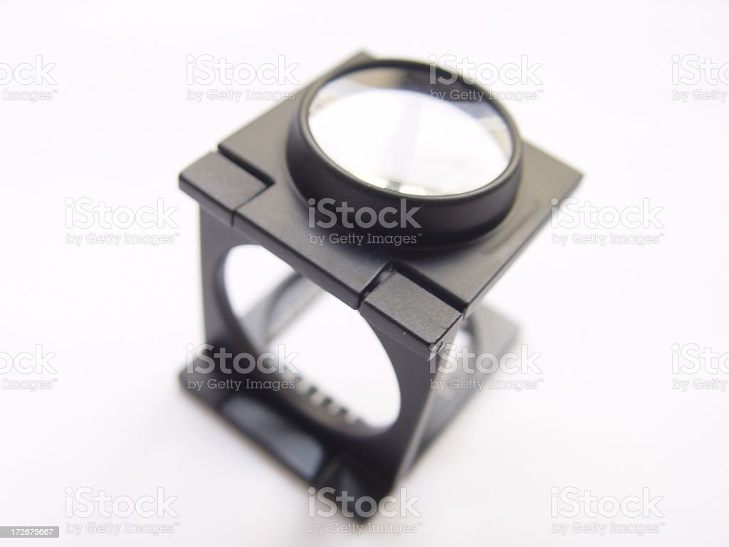 Magnifier  Graphic Design & Print (img2) royalty-free stock photo
