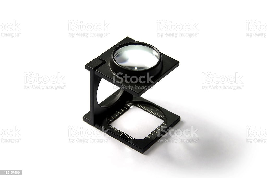 Magnifier  Graphic Design & Print (img3) royalty-free stock photo