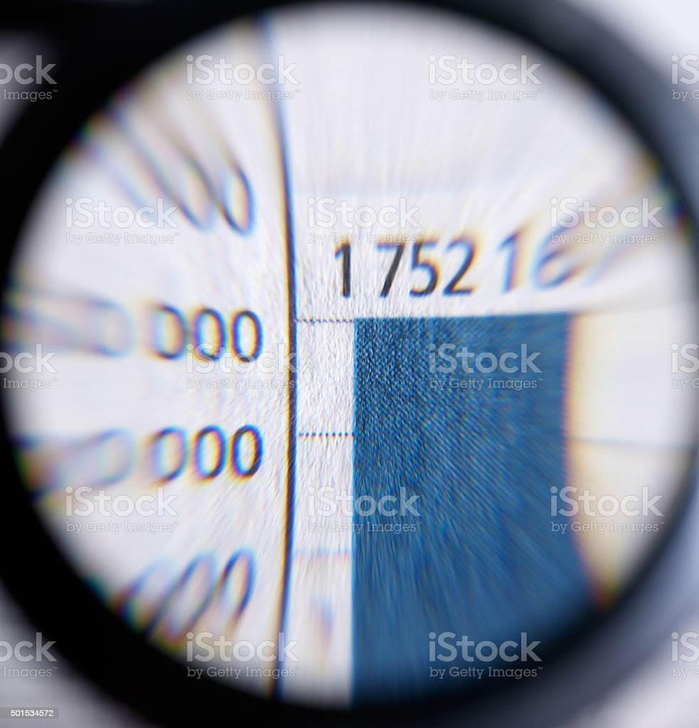 magnifier stock photo