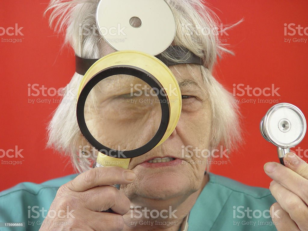 Magnify it royalty-free stock photo