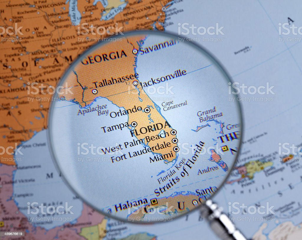 The Map Of Florida.Royalty Free Florida Map Pictures Images And Stock Photos Istock